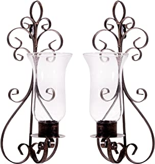 Best wrought iron sconces wall decor Reviews