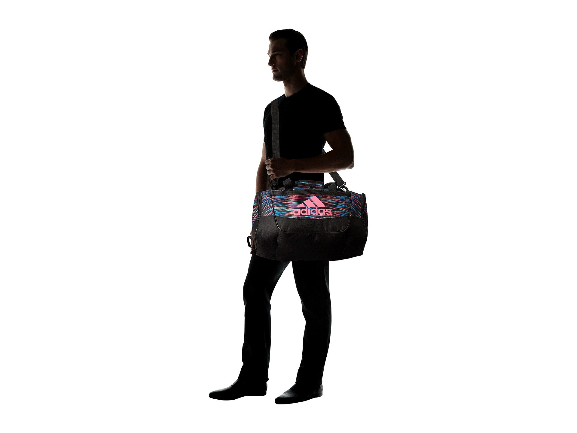 Bolso de Lona para Hombre adidas Defender II Small Duffel  + adidas en VeoyCompro.net