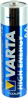 Varta V4906 High Energy AA Alkaline Battery Replaces LR06, Duracell MN1500, R06P, SUM4, LR6, LR6A, HP7, Varta 4106, 824, Kodak KAA K6A, Toshiba LR6N, BA3058/U, NEDA 15A, 15AC, Varta 4006, Rayovac 815