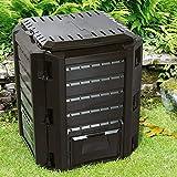 Deub Garden Composter Size Choice 380L 800L 1200L 1600L Compost Converter Composting Unit