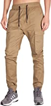 ITALY MORN Men's Jogger Pants with Cargo Pockets Work Pant Elastic Waist
