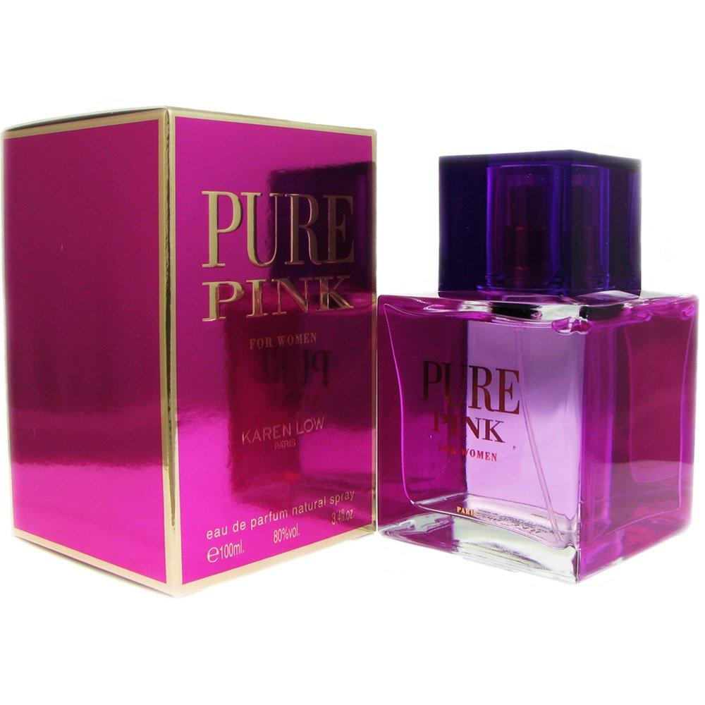 Karen Low Pure New Free Shipping Pink Eau de Sale price Spray Ounce Women for 3.4 Parfum