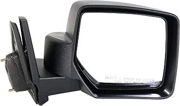Kool Vue Manual Mirror For 2007-2016 Jeep Patriot Passenger Side