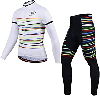 Autumn and Winter Long-Sleeved Jersey Suit Male Sweat-Absorbent Equipment Bicycle Team Riding Pants Breathable Bike Jersey LPLHJD