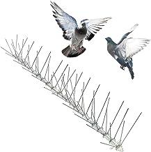 Bird-X Stainless Steel Bird Spikes, Covers 24 feet