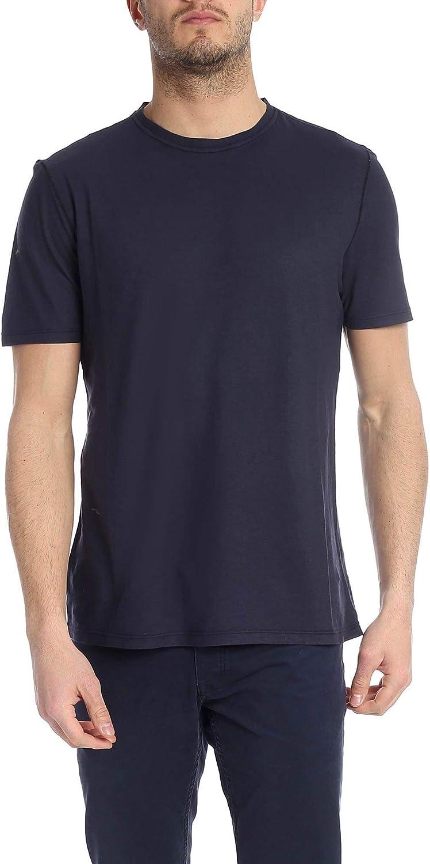 KANGRA Men's 7401214638 blueee Cotton TShirt