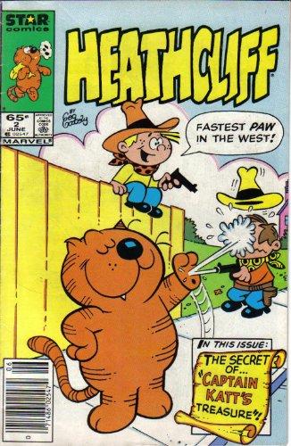 Heathcliff; Captain Katt's Treasure. Volume 1, #2, June 1985...