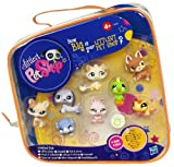 Includes shepherd, cat, kitten, gecko, dwarf bunny, dachshund, guinea pig and green bird pets with their own carry case Add eight new friends to your Littlest Pet Sshop collection These wide-eyed pets are always ready to play wherever you go Just pac...