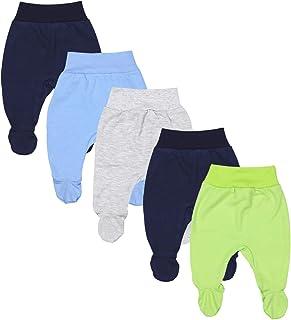 TupTam Pantaloni Felpati Bambino Neonato Pacco da 5