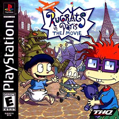 Rugrats in Paris the Movie by THQ