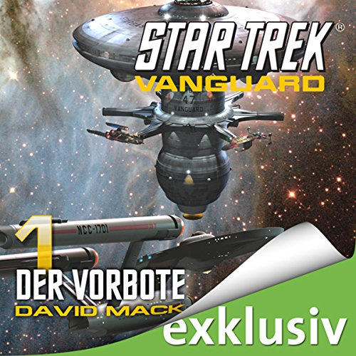 Star Trek. Der Vorbote (Vanguard 1) cover art