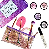 Prim and Pure Ultimate Mineral Kids Makeup Gift Set | Perfect for Play Dates & Birthday Parties | Kids Eyeshadow Makeup – Mineral Blush | Organic & Natural Makeup Kit for Kids| Made in USA