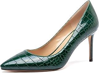 CASTAMERE Escarpins Femme Bout Pointu Mode Aiguille Talon 8.5CM Heels