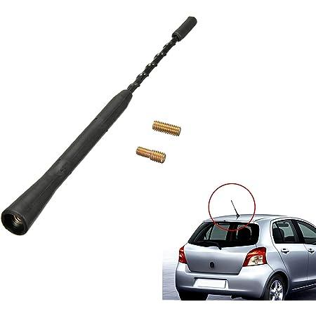 Universale Flexible Autoradio Antenne Mit Rauschunterdrückung 22 9 Cm Am Fm Radio Mit M5 M6 Schrauben Für Auto Tuning Auto
