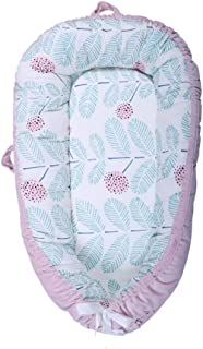 Baby Lounger, Portable Super Soft and Breathable Newborn Infant Bassinet, Newborn Cocoon Snuggle Bed,B
