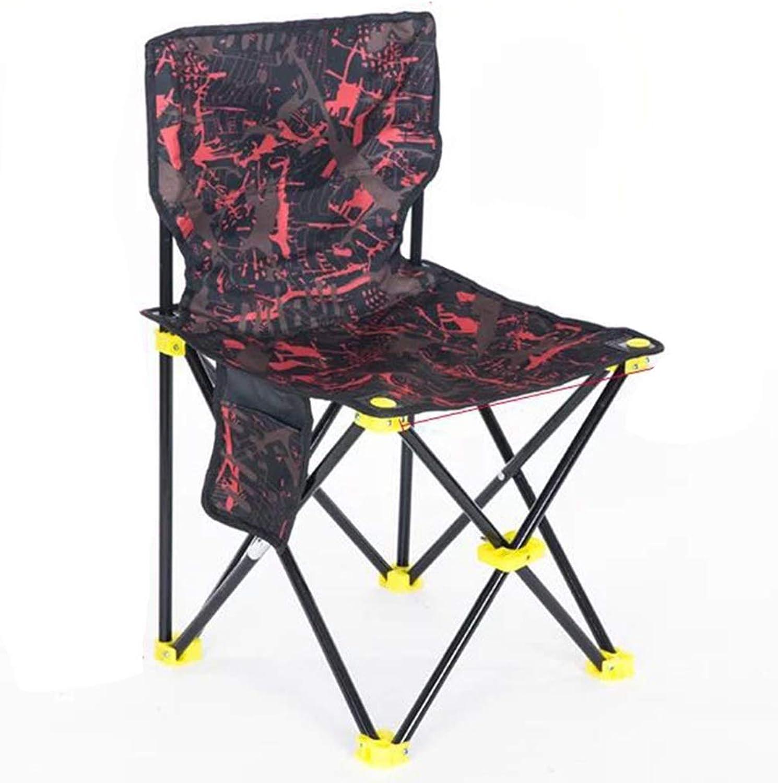 Fischenstuhl Angeln hocker Tragbare Multifunktionale Leichte Angeln Stuhl Outdoor Camping Klapp Angeln Hocker (Farbe   rot, Größe   38  38cm)