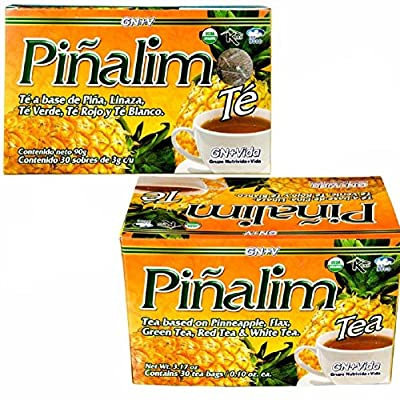 2 Pack Te Pinalim Tea GN+Vida Weight Loss Tea Diet from Standpoint