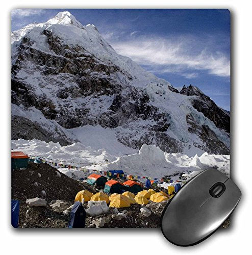 3dRose Tents on Khumbu Glacier Base Camp Mt Everest Nepal As26 Dny0016...