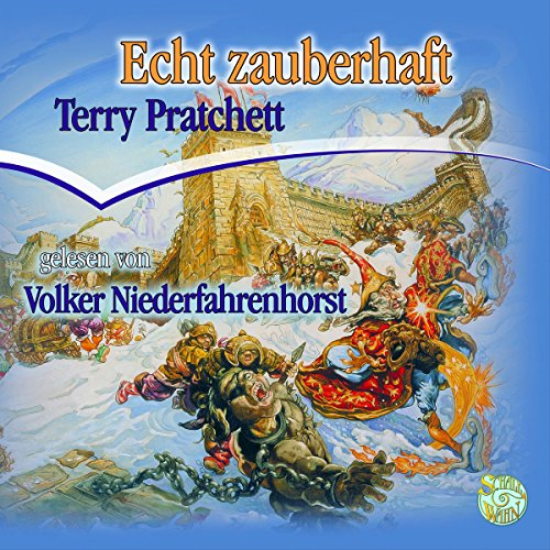 Echt zauberhaft audiobook cover art