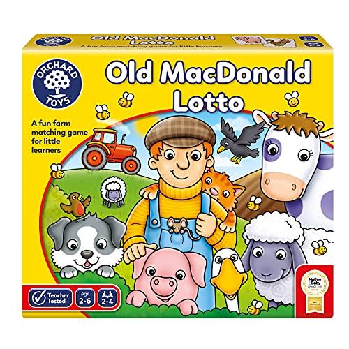 Old Macdonald Lotto Board Game