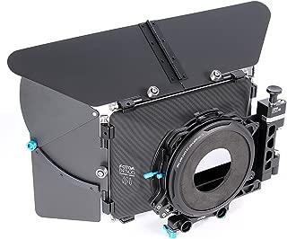 Fotga DP500III 4x4 DSLR Swing-Away Matte Box w/Donuts for 15mm Rail Rod System for Sony A7 A7R A7S II III A9 A6300 A6500 GH5/5S Canon 5D 6D 7D II III IV D850 BMPCC 4K 6K DSLR Video Cinema Camera
