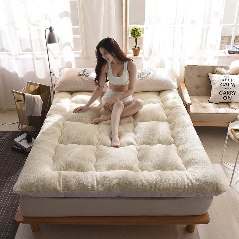 Stereoscopic Thicken Mattress,Foldable Single Double Tatami Floor mat for Home School Hotel 10 cm-C 90x200cm(35x79inch)