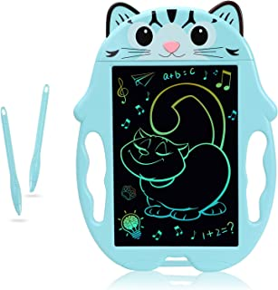 LCD Writing Tablet for Kids, mylovetime Colorful Drawings Writing Board, 8.5 inches Reusable Doodle Pads for Kids Age 3-5 ...