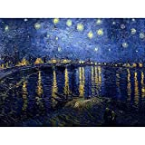 Wee Blue Coo Vincent Van Gogh Starry Night 1888 Old Master