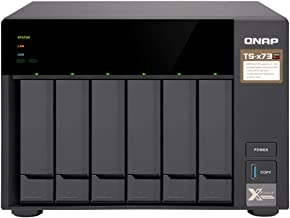 QNAP TS-673-8G-US 6-Bay NAS/ISCSI IP-SAN, AMD R Series Quad-core 2.1GHz, 8GB RAM, 10G-Ready