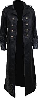 Spiral - VAMPIRE'S KISS - Gothic Trench Coat PU-Leather Corset Back
