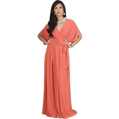 Coral Plus Size Formal Dress: Amazon.com
