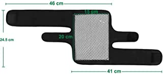 1Pair Tourmaline Self Heating Kneepad Magnetic Therapy Knee Support Brace Heating Belt Massager,S