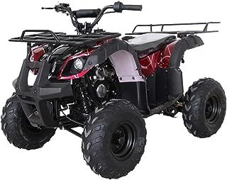 X-Pro Kids ATV 4 Wheelers for Sale 125cc ATV Quad Four Wheelers Youth ATV 4 Wheelers with Big Shining LED Headlight and Remote Control