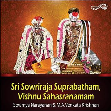 Sri Sowriraja Suprabatham / Vishnu Sahasranamam