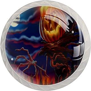 Spooky Forest - Tirador para puerta de Halloween diseño de cajón para muebles