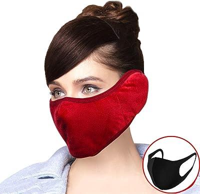 Z-ZH Máscaras de Ciclismo Protección para los oídos Hombres ...