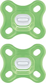 MAM Comfort Pacifiers, Newborn Pacifiers (2 Pack, 1 Sterilizing Pacifier Case) MAM..