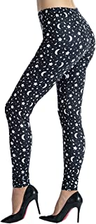 Ndoobiy Women's Printed Leggings Full-Length Regular Size...