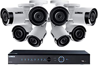 Lorex 16 Channel, 4K NVR Security System, 3TB,8 Night Vision Color Camera