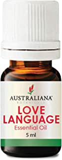 Australiana Botanicals LOVE LANGUAGE Essential Oil Blend 5ml - Aromatherapy Oils, Romantic Fragrances for Lovers, Libido B...