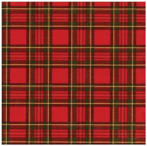 Rollos de papel de regalo papel de regalo diseño escocés de 8pies