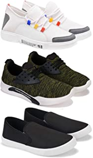 Earton Casual Shoes for Men - Pack of 3 Combo(O)-1614-1516-1199