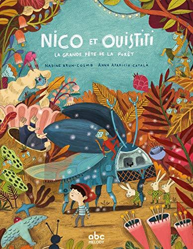 Nico et Ouistiti explorent la forêt (Tapa dura)