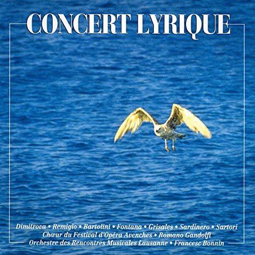 Orchestre des Rencontres Musicales Lausanne, Carmela Remigio, Lando Bartolini