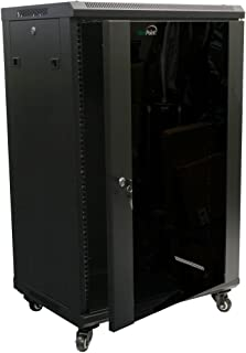 server cabinet vertical rails