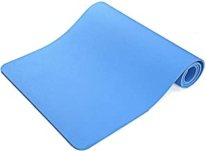 $31 » Wide Yoga Mat - High Density Foam Mat Exercise Mat for Pilates TPE Yoga Mat Extra Wide 6MM Excellent Cushion, Anti-Skid and Light-Weight, Home Workout Accessories, 183X61X0.6CM