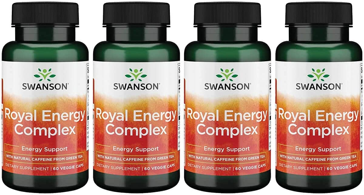Swanson Royal Large special Challenge the lowest price of Japan ☆ price Jelly Energy Complex 4 Capsules Veg Pack 60