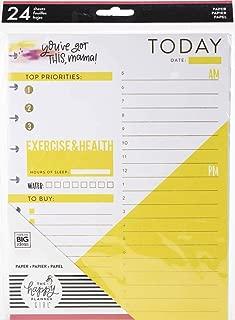 Happy Planner Medium Fill Paper 24/pkg-super Mom Foil