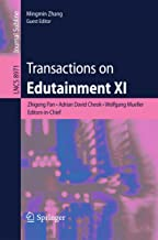 Transactions on Edutainment XI (Lecture Notes in Computer Science Book 8971)