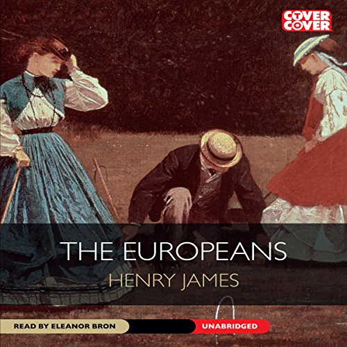The Europeans audiobook cover art